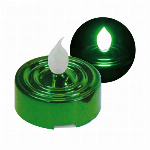 YuRa LEDティーライトキャンドル(グリーン)(発光色:緑)