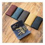 牛革 オールレザーキーケース 4連+1連  メンズ レディース