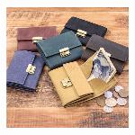 牛革 オールレザー コンパクト 財布 コインケース メンズ レディース