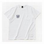 【325】スモールロゴ  ジャストフィット ポケット付きTシャツ メンズ ホワイト