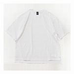 【325】 ビッグシルエット サイドスリットTシャツ カジュアル メンズ レディ..