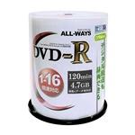 DVD-R ACPR16X100PW 16倍速 100枚スピンドル