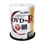 DVD-R データ用ALDR47-16X100PW 16倍速 100枚
