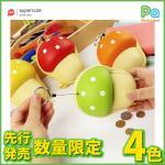 先行発売 数量限定入荷 キノコ カードホルダー レッド オレンジ グリーン イエロー 4色 キッズ 日本未発売 Supercute