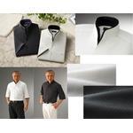 二重変化衿5分袖シャツ2枚組
