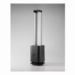 COOL-Q-001B [空気清浄機能付ツインエアーファン ブラック] PM2.5対応
