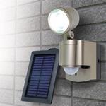 ソーラー3WLEDセンサーライト1灯