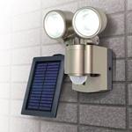 ソーラー3WLEDセンサーライト2灯