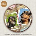 PET MYCLO  お写真時計 わんこ 2