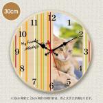 PET MYCLO  お写真時計 にゃんこ 3