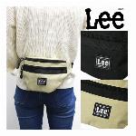リー Lee 底面四角ショルダーバッグ ショルダーバッグ 肩掛け 四角 ポリエス..