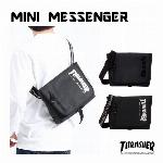 THRASHER スラッシャー MINI MESSENGER メッセンジャーバッグ ショルダーバッグ 小さめ ショルダー THR122