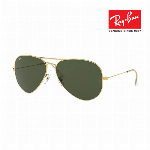 Ray-Ban レイバン サングラス 眼鏡 UVカット AVIATOR LARGE METAL RB3026 グリーンクラシックG-15 7101127