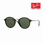 Ray-Ban レイバン サングラス 眼鏡 UVカット ROUND FLECK RB2447F 901 グリーンクラシックG-15 7102571