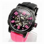取寄品 正規品COGU自動巻き腕時計 コグ 3SKU-BKC メンズ腕時計
