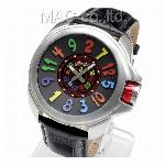 取寄品 正規品COGU自動巻き腕時計 コグ JH6-WH メンズ腕時計