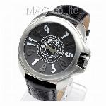 取寄品 正規品COGU自動巻き腕時計 コグ JHR-BCL メンズ腕時計