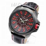 取寄品 正規品COGU自動巻き腕時計 コグ JHR-BK メンズ腕時計