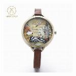 腕時計 レディース Miss Keke レディース腕時計 ケケ KK1040 ローマ数字 ファッションウォッチ