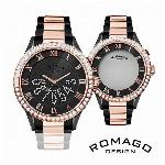 正規品 ROMAGO DESIGN腕時計 ロマゴデザイン RM019-0214SS-RGBK ラグジュアリー Luxury メンズ腕時計