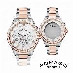 正規品 ROMAGO DESIGN腕時計 ロマゴデザイン RM019-0214SS-RGWH ラグジュアリー Luxury メンズ腕時計