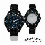 自動巻き腕時計 ATW033 無反射コーティングブルーガラス シンプル スケルト..