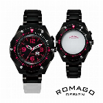 自動巻き腕時計 ATW034 ミリタリーテイスト スケルトン シンプル 機械式腕..