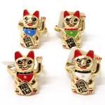 招き猫リング (商品コード:206-602)