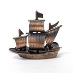 アンティークシャープナー 鉛筆けずり 船 (商品コード:208-950)