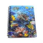 3Dリングノート オーシャンワールド/熱帯魚・クマノミ (商品コード:301-951)
