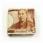 日本のお札モチーフグッズ 壱萬円札 小銭入れ (商品コード:303-309)