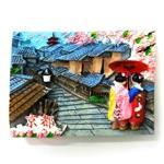 和柄 ポリマグネット 高台寺 京都 (商品コード:303-384)