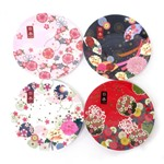 和柄メラミン食器 小皿4枚セット 富士山 (商品コード:303-597)