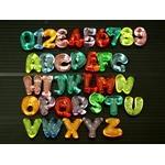 クラッシュアイス 数字&アルファベット ミルキーパール (商品コード:506-5..