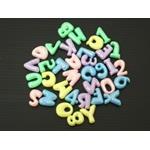 クラッシュアイス 数字&アルファベット クリア (商品コード:506-562)