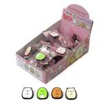 フレグランスクリップ(すみっこぐらし) 4種アソート ピーチの香り (商品コード:608-653)