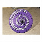 踊り傘/和傘 (装飾用) 村上 藤うず紫