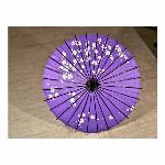 踊り傘/和傘 (装飾用) 村上 小梅花紫