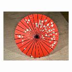 踊り傘/和傘 (装飾用) 村上 小梅花赤