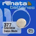 RENATA 373 SR916SW 0%Mercury