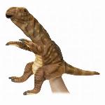安全性・本物のような質感・ HANSA 製品『ハンドパペット ムッタブラサウルス40』【7744】