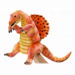 安全性・本物のような質感・ HANSA 製品『ハンドパペット ステゴサウルス40..