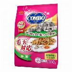 日本ペット コンボキャット 毛玉対応 かつお味・かつおチップ・小魚添え 700g