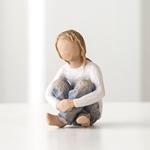 ウィローツリー彫像 【Joyful Child】 - 楽しむ子