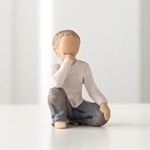 ウィローツリー彫像 【Imaginative Child】 - 空想する子