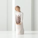 ウィローツリー彫像 【Surrounded by Love】 - 愛に包まれる