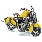 ブリキのおもちゃ(motorcycle yellow)【27104】