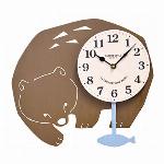 クーナ振り子時計 クマ