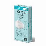 KF94 マスク 不織布  白 高性能マスク 医療用クラス 立体構造 4層 3D  花粉/PFE /VFE/BFE ウイルス飛沫