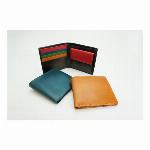 財布|二つ折り バンタンレザー 播州レザー マルチカラー ユニセックス
